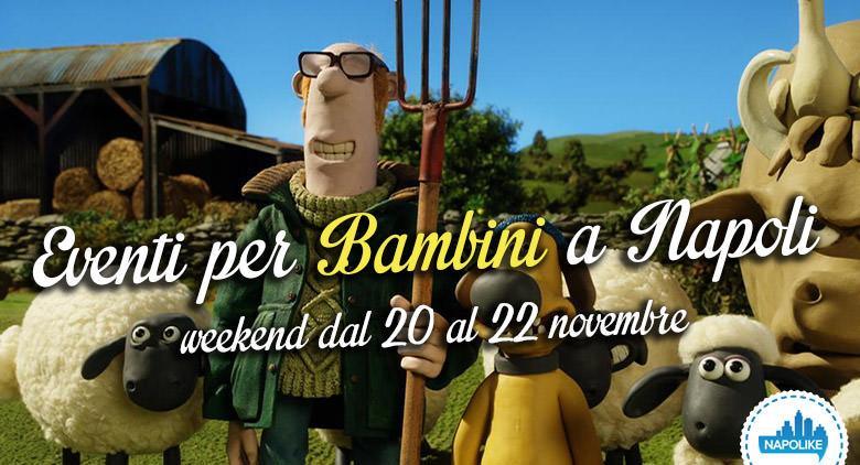 eventi per bambini a Napoli nel weekend dal 20 al 22 novembre 2015