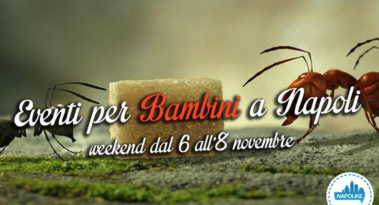 Eventi per bambini a Napoli per il weekend dal 6 all'8 novembre 2015