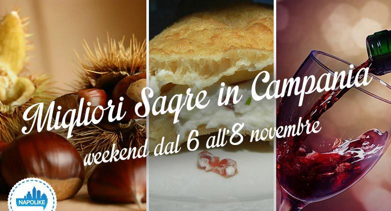 Le migliori sagre in Campania per il weekenda dal 6 all'8 novembre 2015
