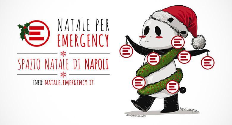 Negozio Emergency a Napoli per Natate 2015