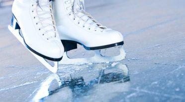 The ice skating rink at Volcano Buono di Nola at 2015 Christmas