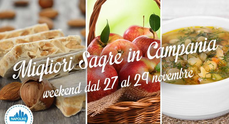 Sagre in Campania per il weekend dal 27 al 29 novembre 2015