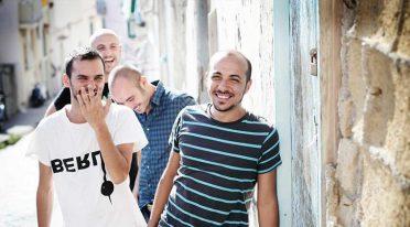 Freies Konzert der Foja in Neapel