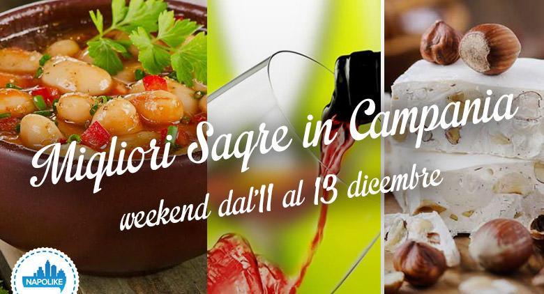 Sagre in Campania per il weekend dall'11 al 13 dicembre 2015