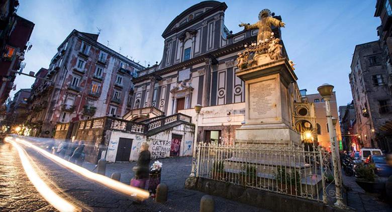 Area Pedonale al centro di Napoli per Natale 2015