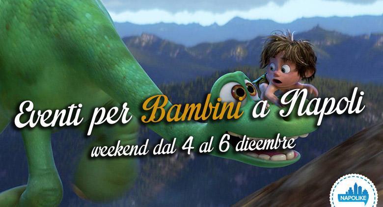 Eventi per i bambini a Napoli nel weekend dal 4 al 6 dicembre 2015