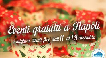 Eventi gratuiti a Napoli nel weekend dall'11 al 13 dicembre 2015