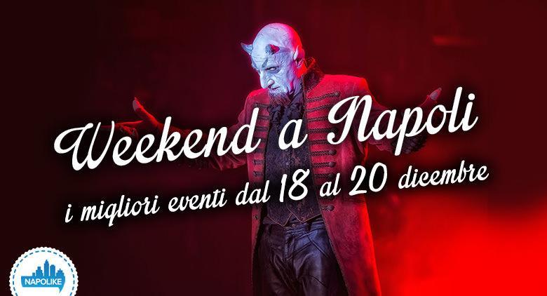 Eventi a Napoli nel weekend dal 18 al 20 dicembre 2015