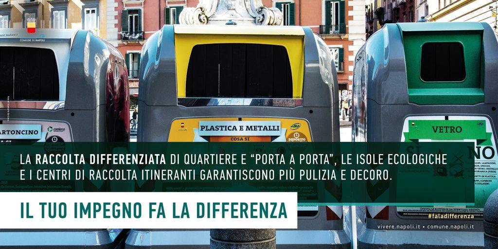 Campagna Comune di Napoli Fa la differenza