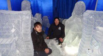 Presepe di ghiaccio più grande d'Italia a Ischia