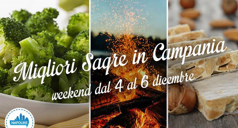 Sagre in Campania per il weekend dal 4 al 6 dicembre 2015
