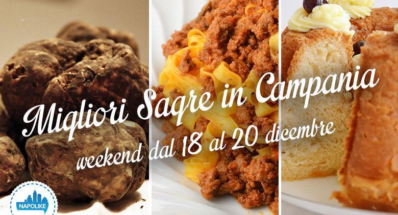 Le sagre in Campania del weekend dal 18 al 20 dicembre 2015