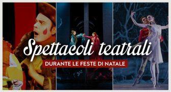 Gli spettacoli teatrali a Napoli per Natale 2015