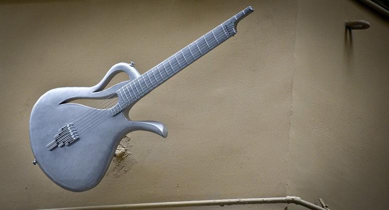 Riproduzione chitarra Paradise Pino Daniele