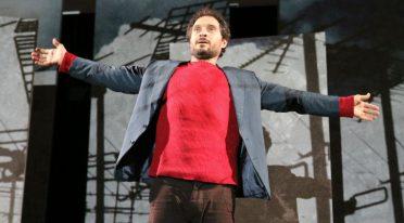 Claudio Santamaria im Bellini Theater von Neapel in Gospodin