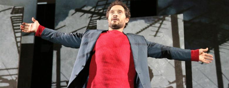 Claudio Santamaria in Gospodin al Teatro Bellini