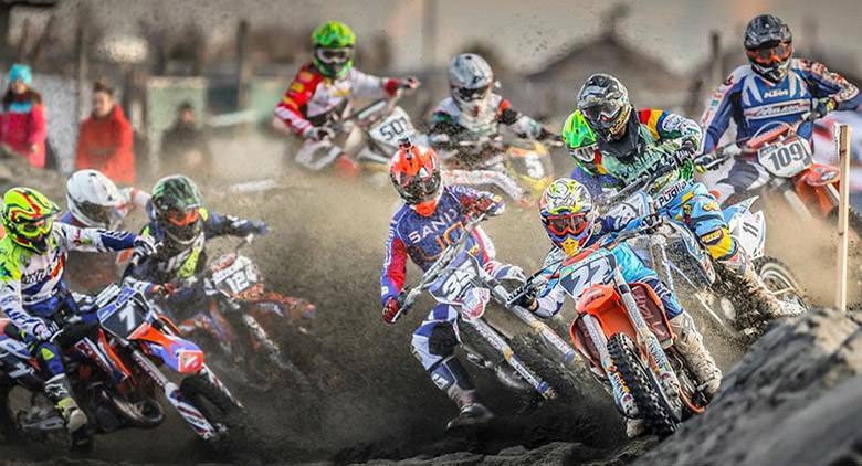 Supermarecross a Bacoli provincia di Napoli