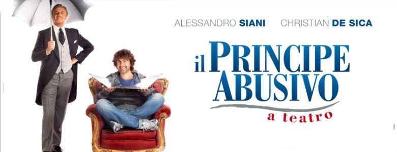 Alessandro Siani al Teatro Augusteo con Il principe abusivo
