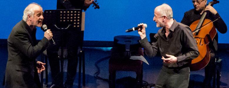La parola canta Toni e Peppe Servillo