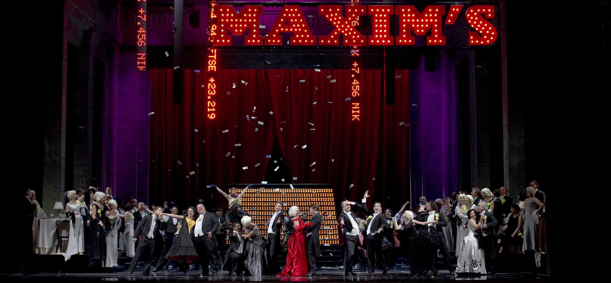 La vedova allegra Teatro San Carlo