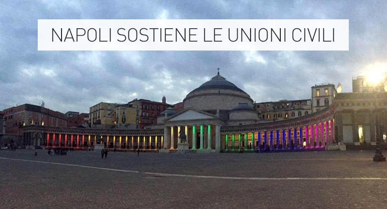 Napoli in piazza per #Svegliatitalia, sfila anche de Magistris