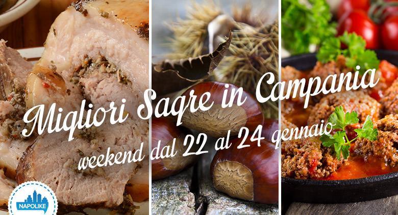 Le sagre in Campania nel weekend dal 22 al 24 gennaio 2016