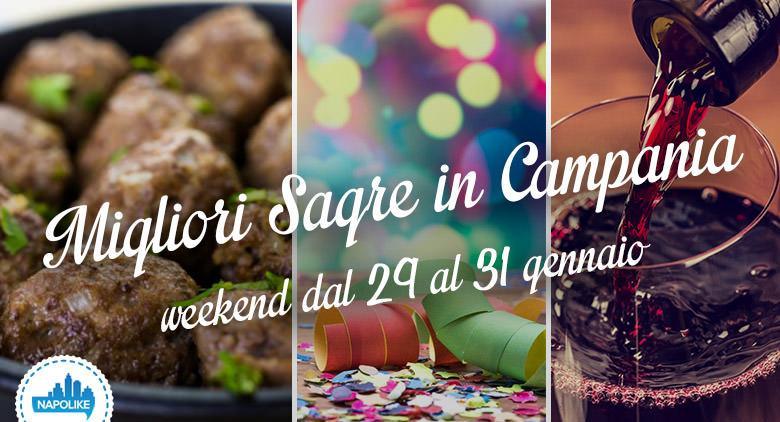Sagre in Campania per il weekend da 29 al 31 gennaio 2016