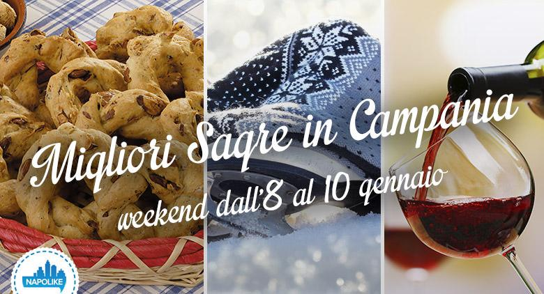 Sagre in Campania per il weekend dall'8 al 10 gennaio 2016