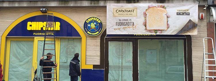 Capatoast apre a Fuorigrotta a Napoli