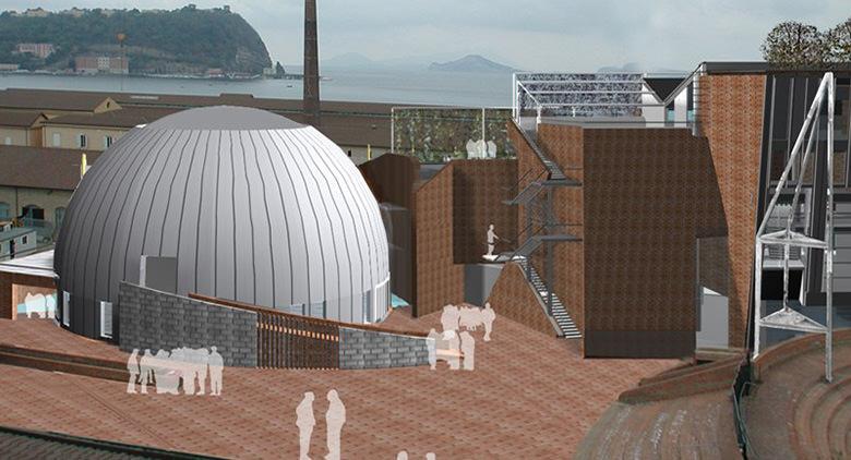 Nuovo padiglione Corporea a Città della Scienza