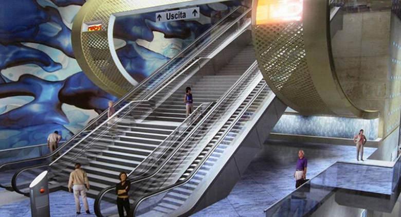 Apertura ad aprile 2016 Stazione San Pasquale Metro Linea 6 di Napoli