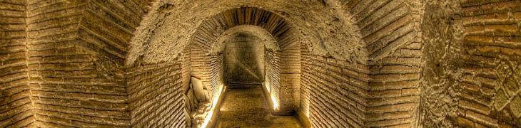 Proscenio di Napoli sotterranea
