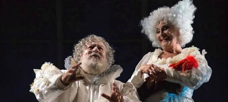 Lello Arena e Isa Daniela al Teatro San Ferdinando con Sogno di una notte di mezza estate