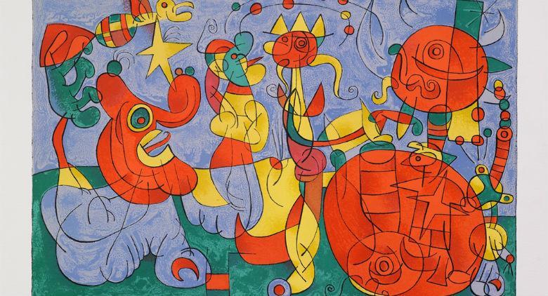 Joan Mirò, mostra Cava de' Tirreni
