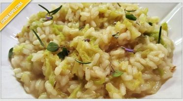 Recipe of rice and cabbage
