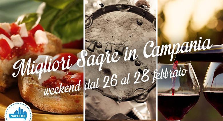 Le migliori sagre in Campania nel weekend dal 26 al 28 febbraio 2016