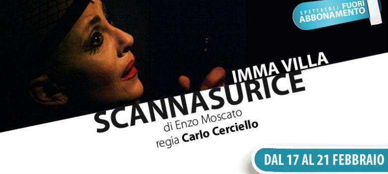 Enzo Moscato in Scannasurice al Teatro Nuovo di Napoli