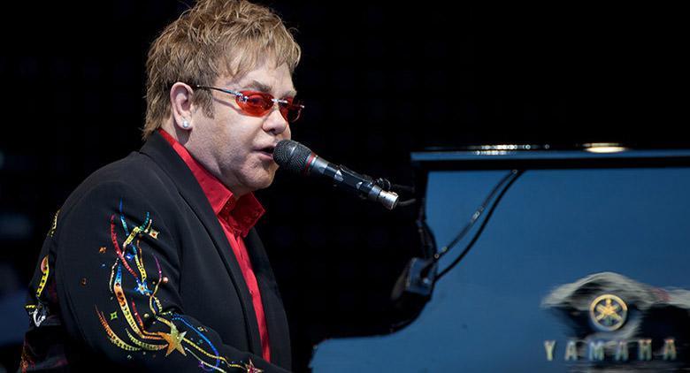 Elton John in concerto a Pompei