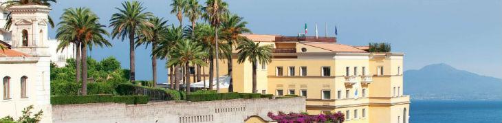 Vista del Grand Hotel Angiolieri a Sorrento (Seiano)