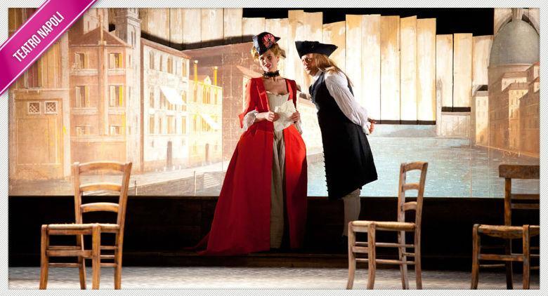 Il bugiardo in scena al Teatro Mercadante