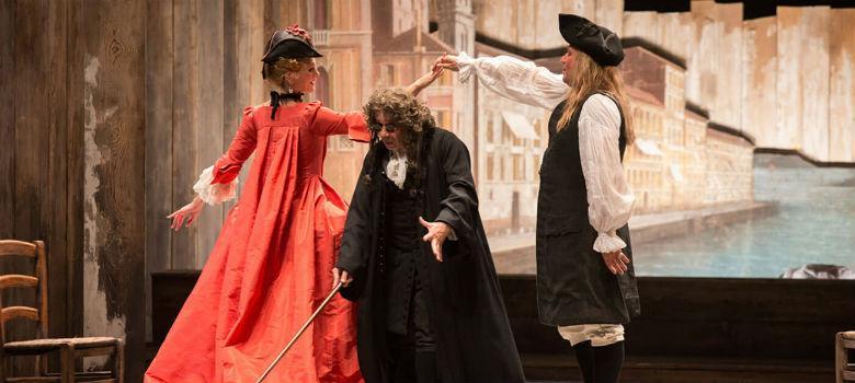 Il bugiardo di Carlo Goldoni al Teatro Mercadante di Napoli