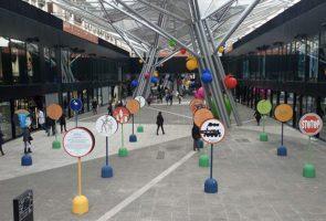 Mostra su Totò alla stazione di Piazza Garibaldi a Napoli