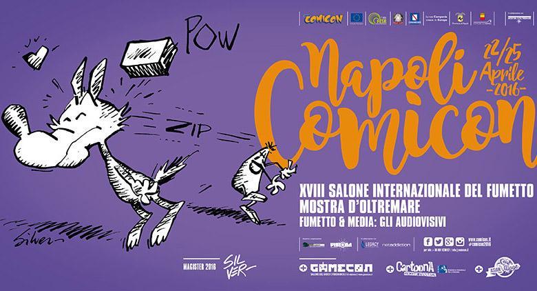 Manifesto Comicon 2016 a Napoli