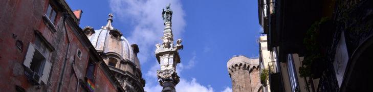 Piazza Sisto Riario Sforza à Naples