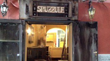 Spuzzulè a Napoli arredato con materiali riciclati