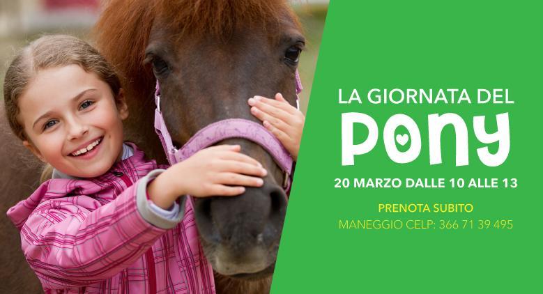 La giornata del Pony per bambini (Lago Patria)