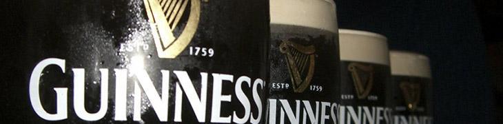 Boccali di Guinness per San Patrizio a Napoli