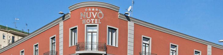Fronte dell'hotel a 4 stelle nuvò di Napoli