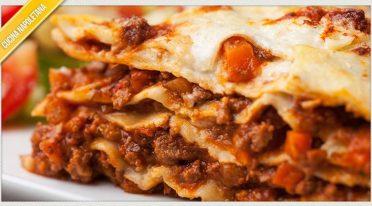 Recipe of Neapolitan lasagna