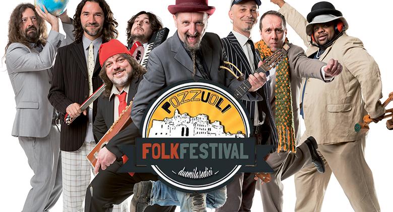 Bandabardò in concerto gratuito al Pozzuoli Folk Festival 2016